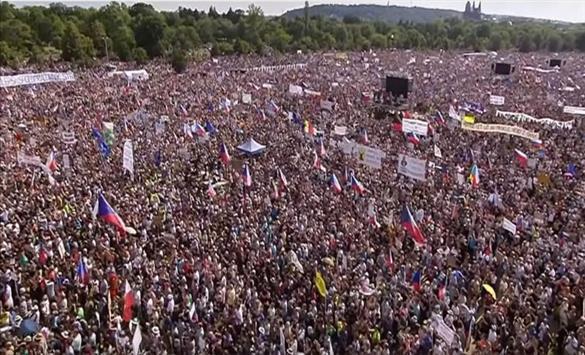 Антивладини протести во Чешка