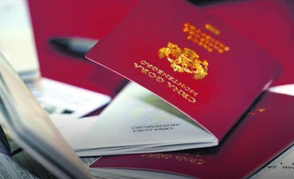 Во Црна Гора 20.000 повеќе пасоши од граѓани