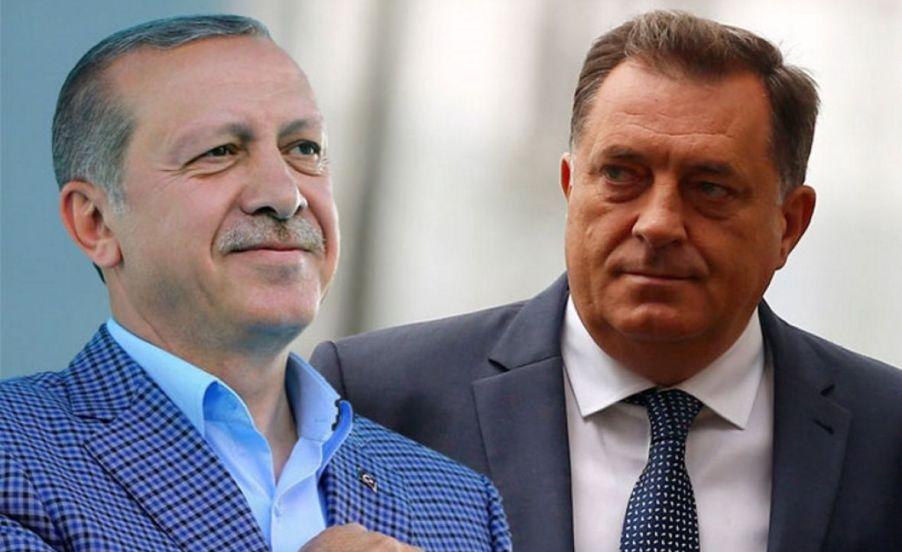 Додик и Ердоган разговарале за формирањето на Советот на министри
