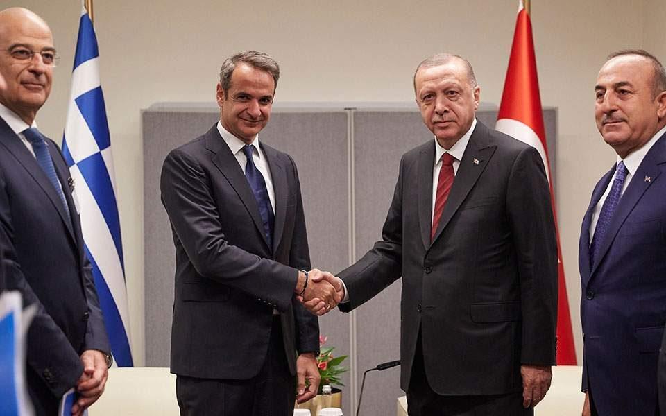 Средба Ердоган – Мицотакис во Лондон