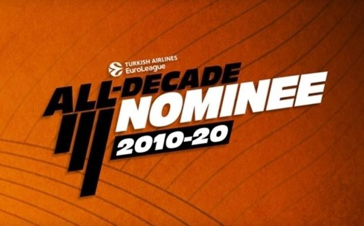 Евролигата ќе избира тим на декадата, 50 кошаркари во конкуренција
