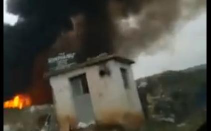 Гореше јавна депонија во Струмица, никој не одговара (ВИДЕО)