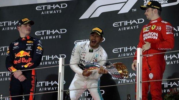Хамилтон со рутинска победа ја заврши сезоната во Формула 1