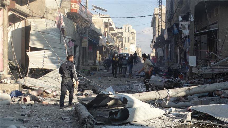 Над 60 луѓе загинаа во борбите во Идлиб