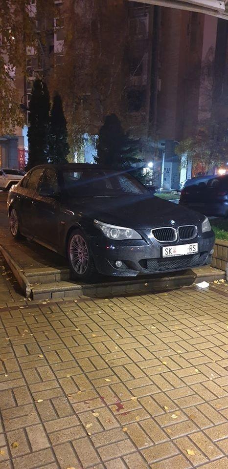 Вакво паркирање среде Скопје не сте виделе: Ова е и за Оскар и за Гинис (ФОТО)