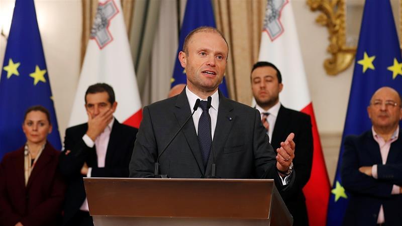 Премиерот на Малта во јануари поднесува оставка