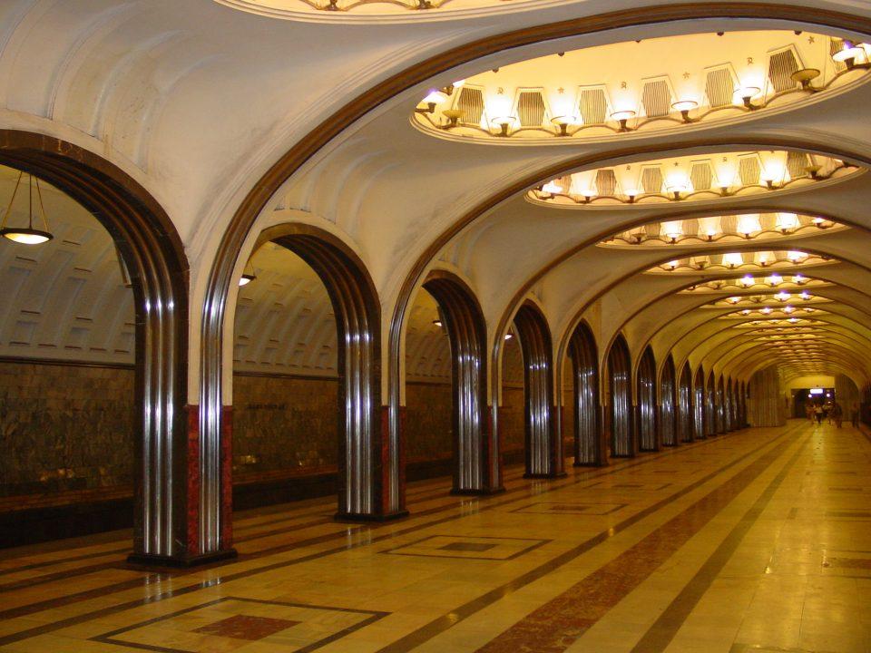 """Закани за """"минирани"""" 25 метро станици во Москва"""