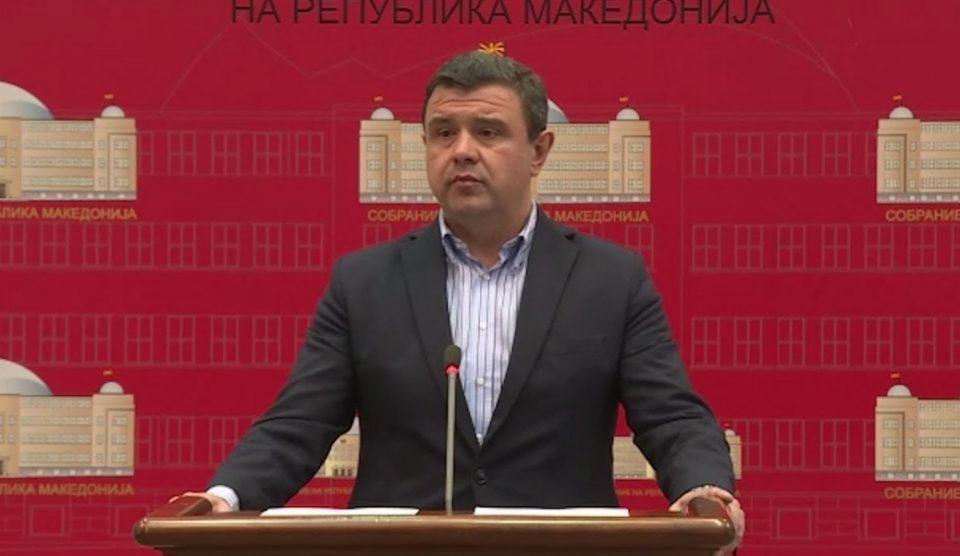 Мицевски: Поднесените амандмани се наша реакција на неуставноста и насилничкото носење на Деловникот од страна на СДСМ
