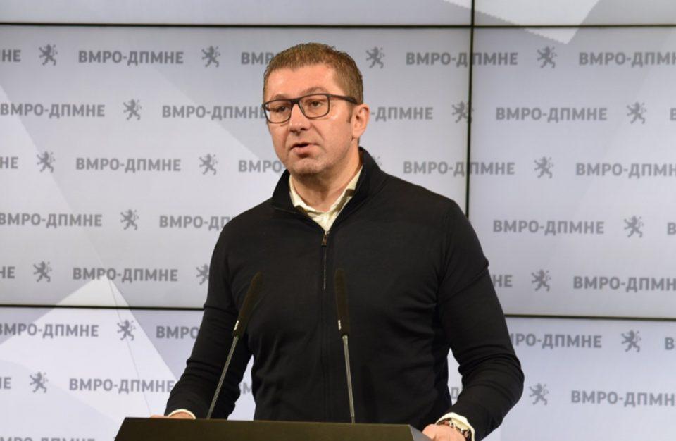 Мицкоски: Аферата Кеш го уклучува алармот за борба против криминалот, ќе поднесеме Закон за потекло на имот за политичари- бараме итна истрага за делувањето на обвинители и судии