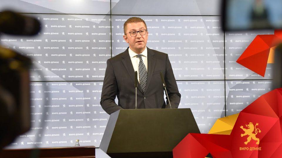 Мицкоски: Направен е смислен и организиран грабеж на буџетот, за три месеци потрошиле 120 милиони евра за корумпирање избори, економијата е пред колапс
