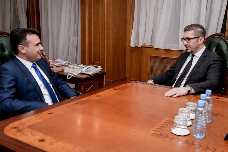Мицкоски го повикува Заев да се изјасни за кандидат мандатар, забрана за амнестија, испитување на потекло на имот на политичари