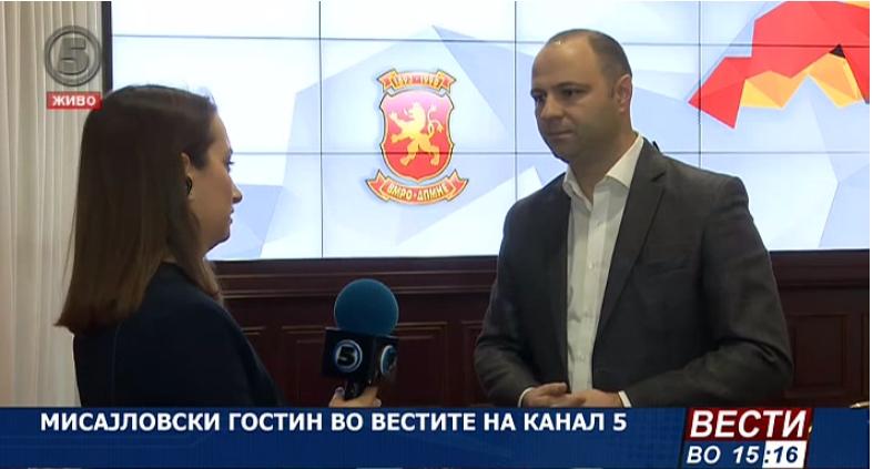 Мисајловски: Власта бега од предвремените парламентарни избори