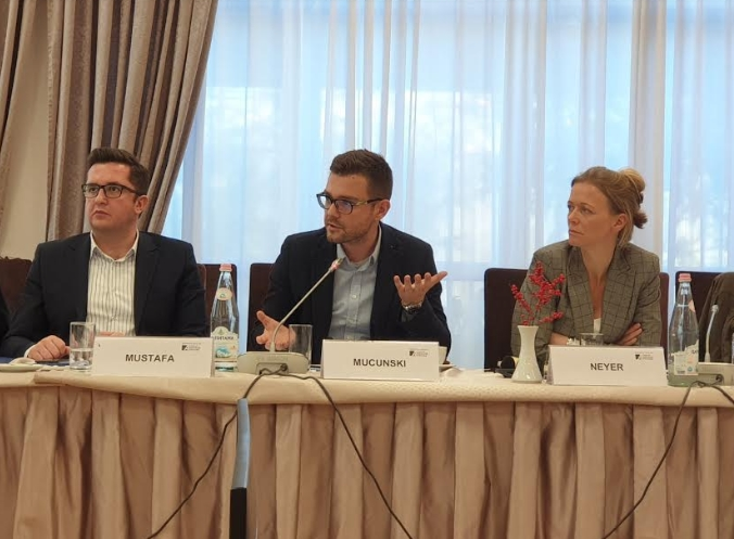 Претставници на ВМРО-ДПМНЕ на Мултилатерален дијалог со сестринските партии од регионот