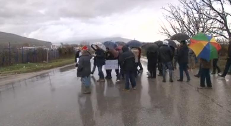 Протест на жителите на населбата Горно Оризари, изразија револт од неработењето на Наташа Петровска
