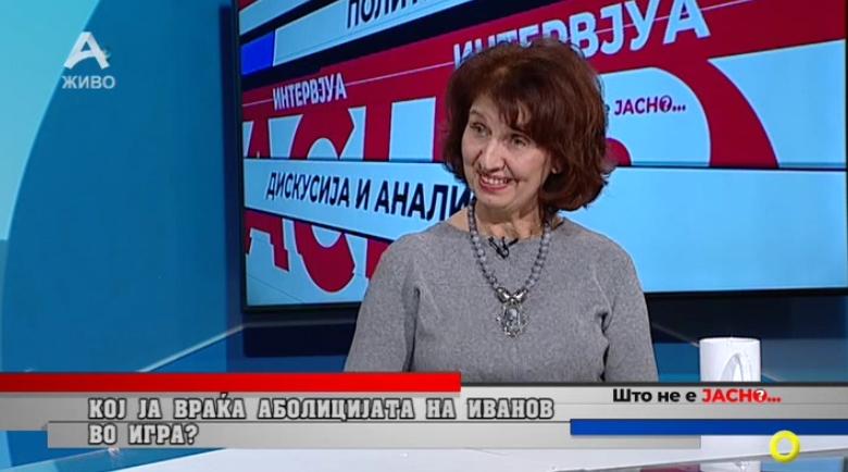 Силјановска Давкова: Не е само Јовановски рекетар, се работи очигледно за мрежа на луѓе