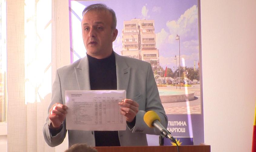 Советниците на ВМРО-ДПМНЕ обелоденија дека ќе се градат нови 150 згради во Карпош, Богоев се разочара дека веста ќе излезе во медиумите