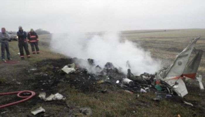 Авионска несреќа, 9 загинати, 3 преживеани (видео)
