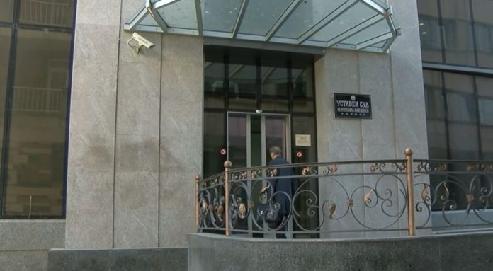 Новинарските екипи избркани од Уставен суд