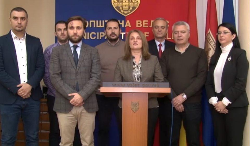 Советничката група на ВМРО-ДПМНЕ бара разрешување на претседателот на Совет на општина Велес