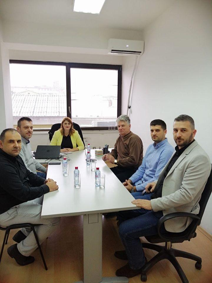 Стаменковска Стојковски на средба со Ралповски: Заедничка цел ни е унапредување на правата на вработените во државниот и јавниот сектор