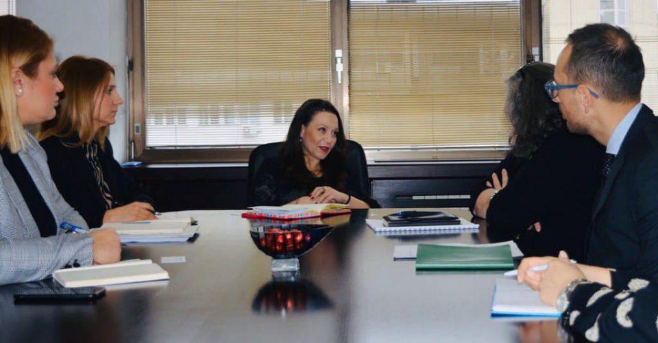 Рашела Мизрахи се сретна со преставничката на УНИЦЕФ во Македонија