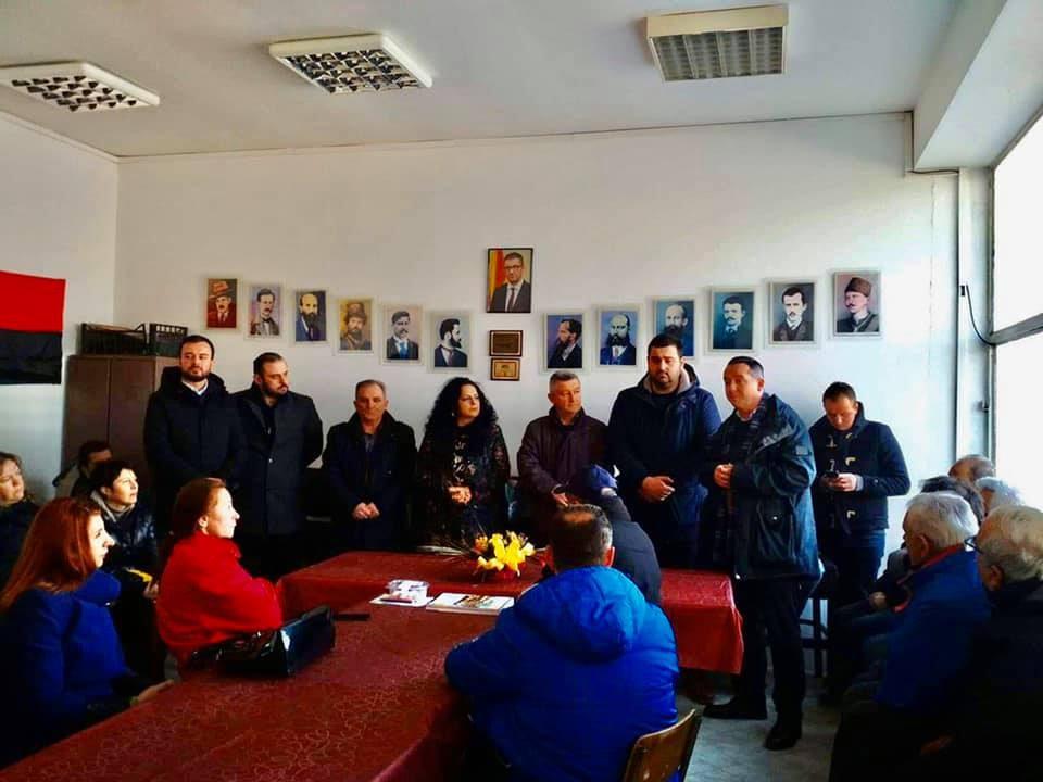 Николов: Драчевчани и Припорчани се разочарани од катастрофалното владеење на СДСМ, ова безредие мора да заврши
