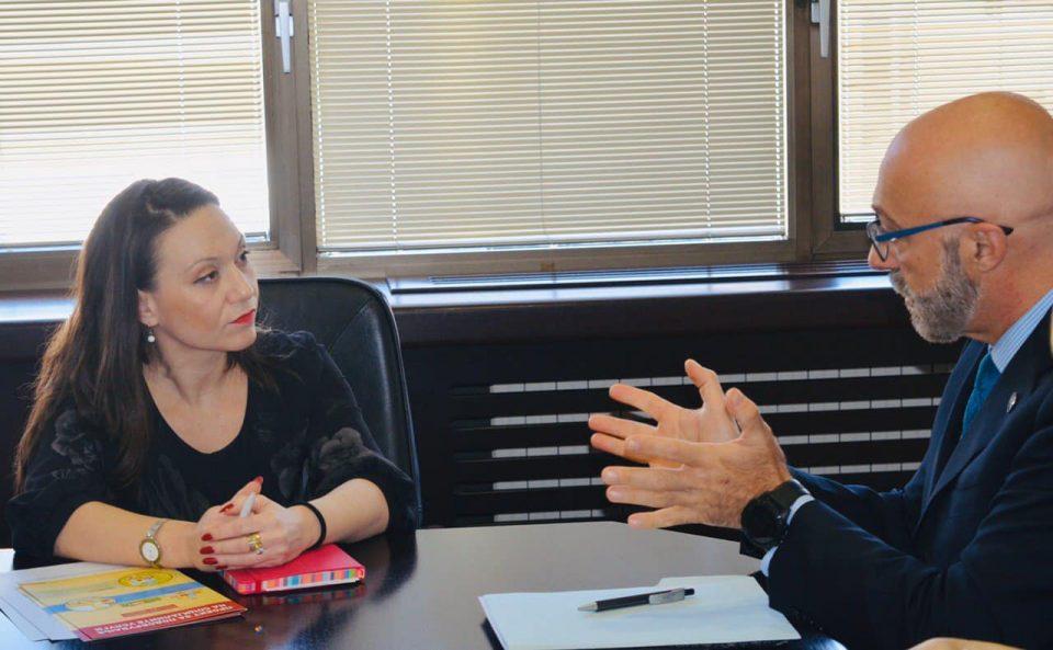 Мизрахи се сретна со Марко Монтованели, директор во Канцеларијата на Светска банка