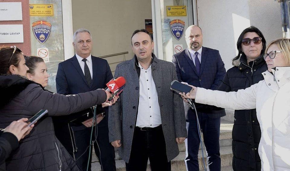 Министерот Чулев во работна посета на СВР Штип
