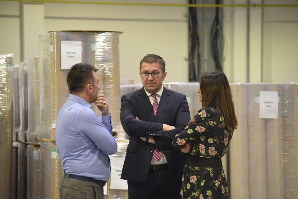 Мицкоски: ВМРО-ДПМНЕ ќе ја има најдобрата програма со особен фокус на економските прашања- тоа ќе овозможи препородување и економска обнова