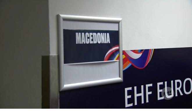 ФОТО: За Австрија сме Македонија, ја нема Северна пред соблекувалната