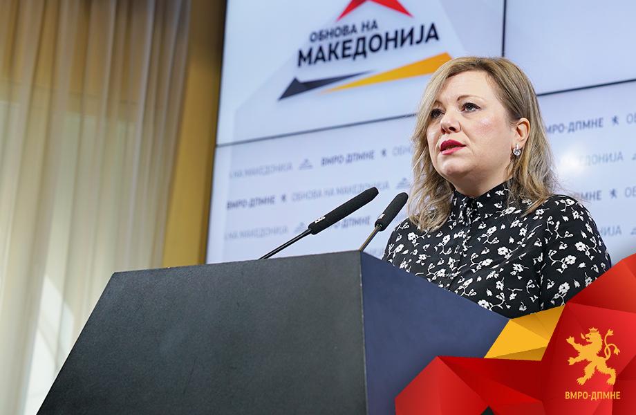 Николовска: Има катастрофални решенија Законот за јавно обвинителство