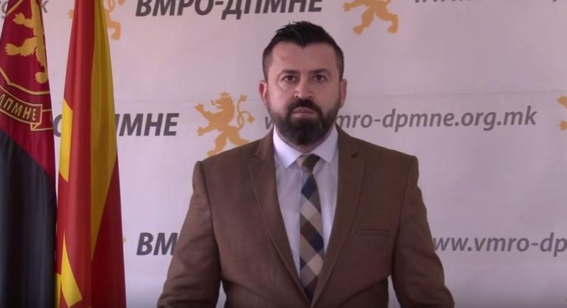 Лазов: На 12 Април народот ќе ја казни оваа валкана и погубна политика на СДСМ