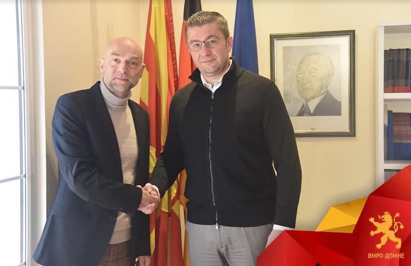 """Мицкоски- Јоханес Реј: Македонија е на врвот според корупцијата на Балканот, a угледниот """"Економист"""" ја класифицира нашата држава како """"хибриден режим"""""""
