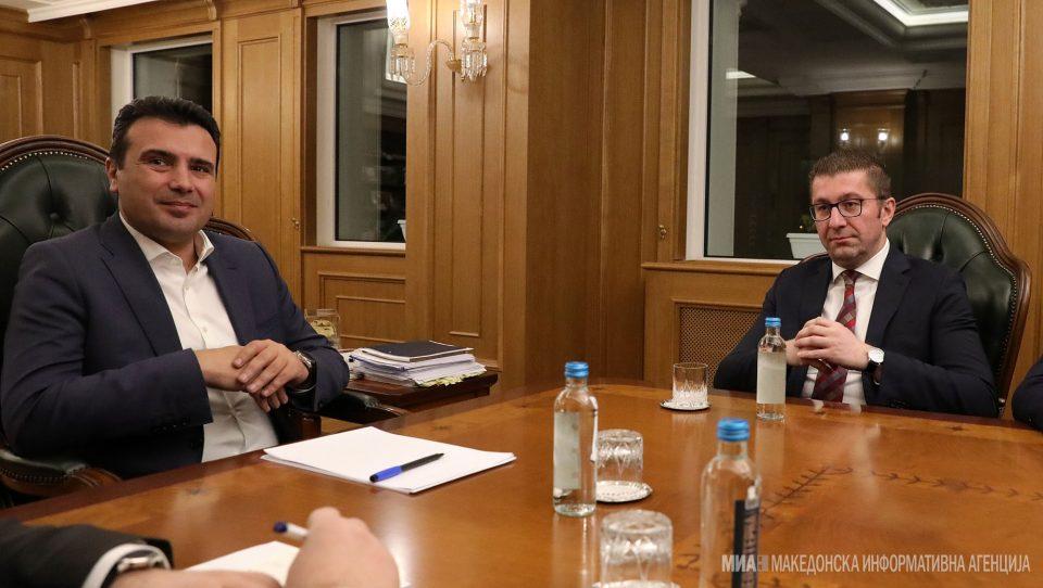 Заев и Мицкоски во 18.30 часот кај претседателот Пендаровски