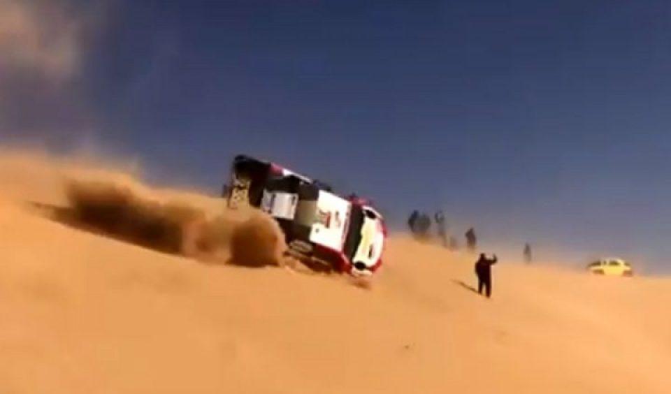 Алонсо доживеа ужасна несреќа, возилото му се преврте неколку пати! (ВИДЕО)