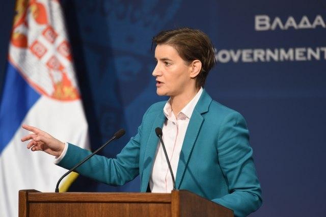 Брнабиќ: На границите на Србија нема зголемен притисок на мигрантите