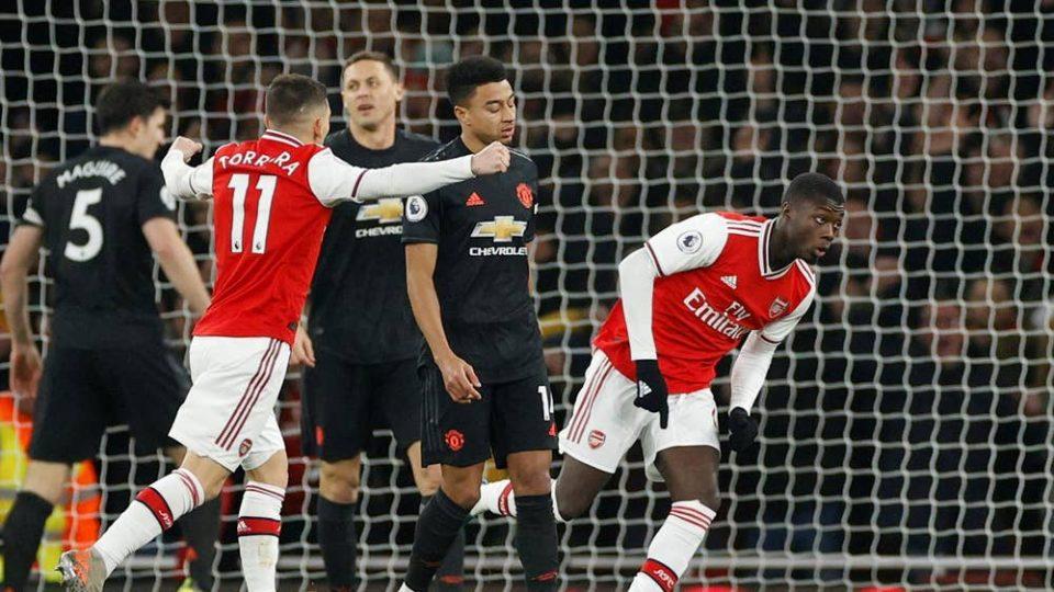 Арсенал му го нанесе шестиот пораз на Jунајтед оваа сезона