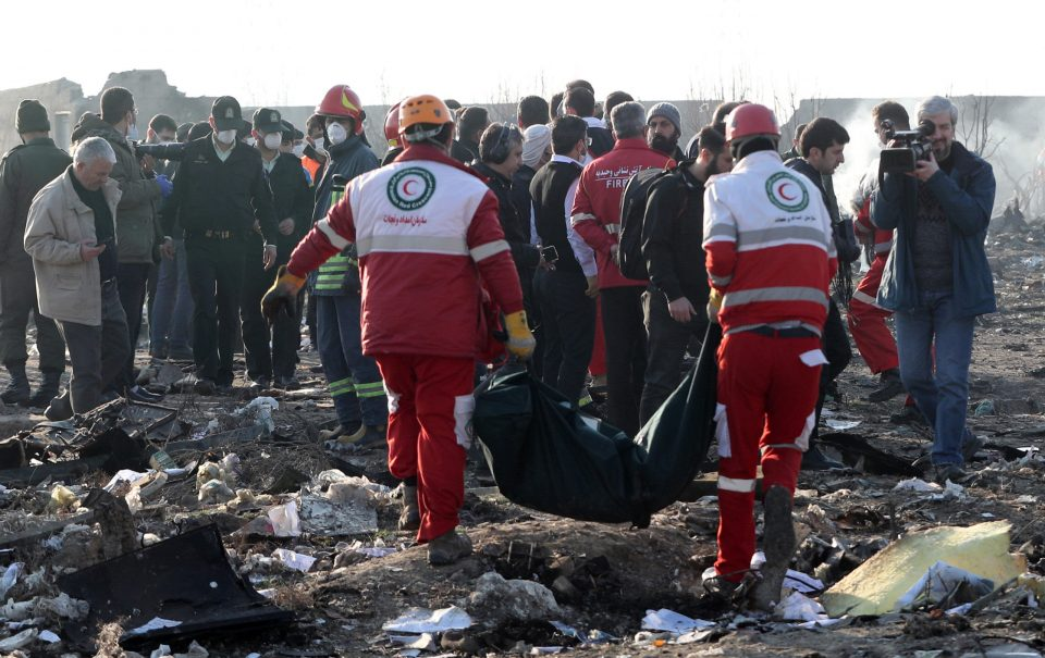Во авионската несреќа во Иран загинаа Иранци, Канаѓани, Украинци, Швеѓани, Германци…