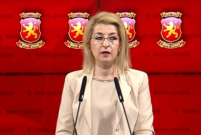 Ласовска: Мизрахи не го прекрши Уставот, ја разрешија затоа што не молчеше за криминалот кој бил правен претходно во министерството