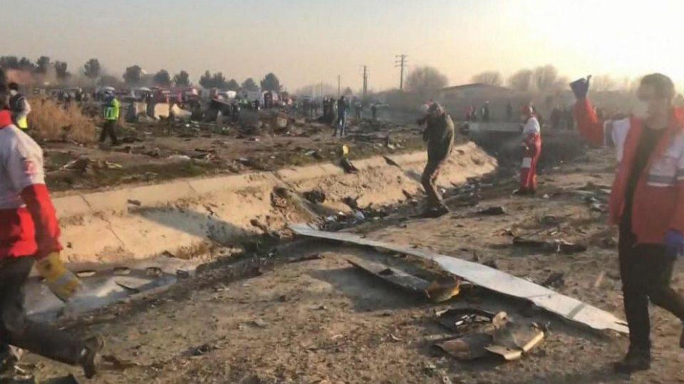 ВИДЕО: Падот на украинскиот авион во Иран
