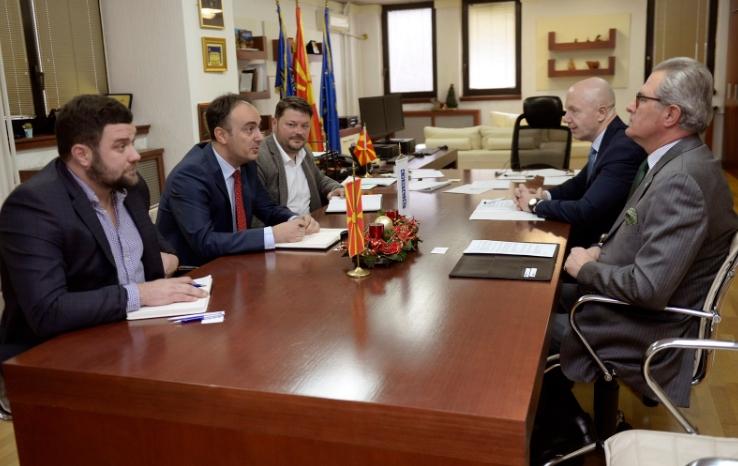ФОТО: Чулев на средба со шефот на Мисијата на ОБСЕ