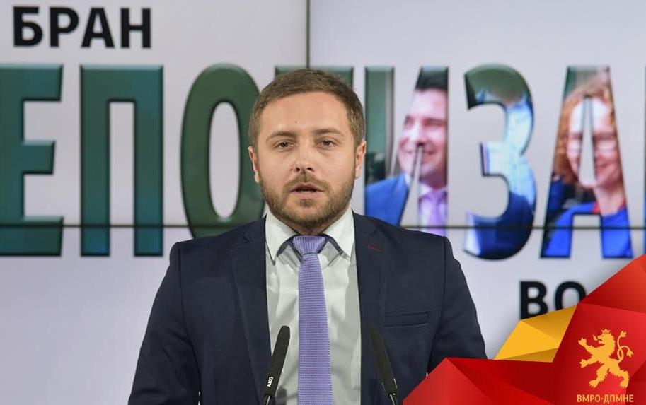Арсовски откри нов бран на непотизам: Свесни за падот, СДСМ побрза повторно да си ги згрижи своите блиски