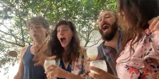 """Возбуда, радост и солзи: Еве како екипата на """"Медена земја"""" ја дочека веста за номинациите (ВИДЕО)"""