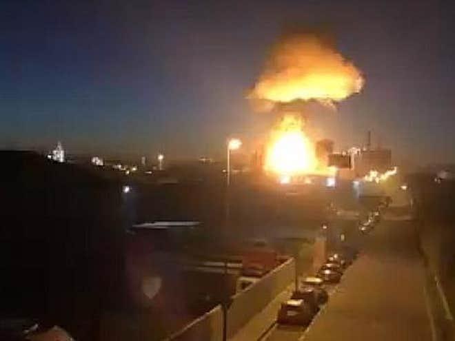 ВИДЕО: Силна експлозија во хемиска фабрика во Шпанија, еден загинат и најмалку 9 повредени