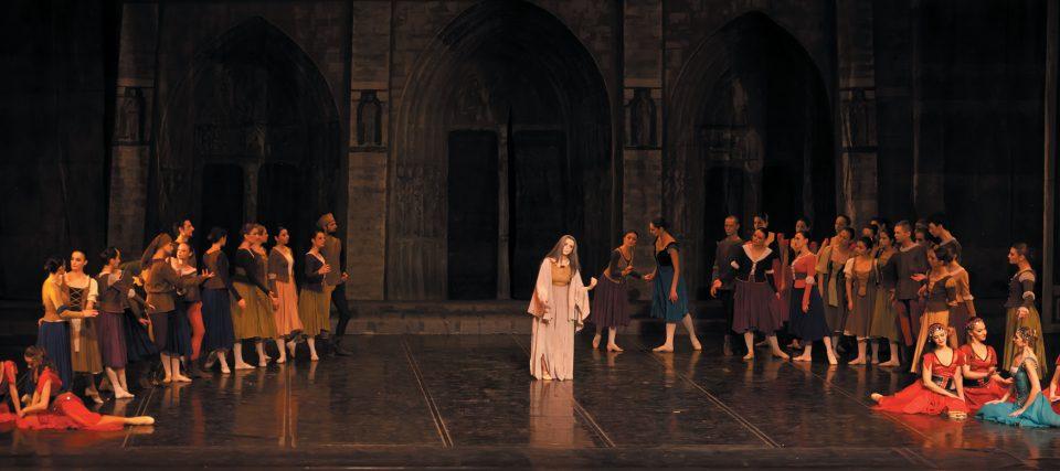 """Две изведби на балетската претстава """"Есмералда"""""""