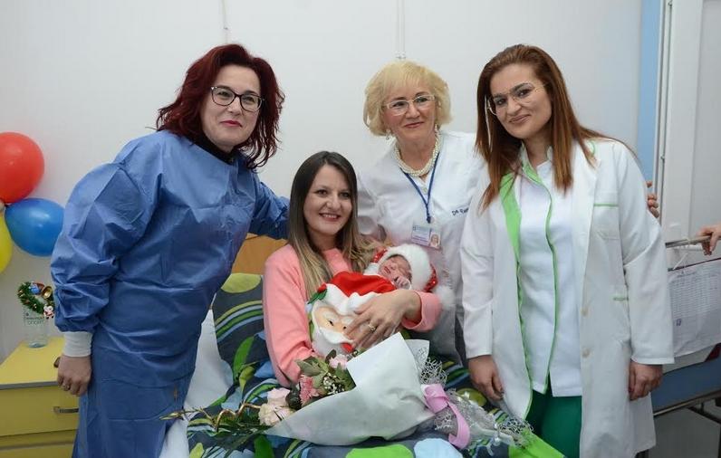 Евгенија е првото бебе родено годинава во Битола