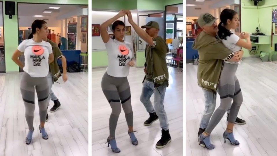 Знаевме дека Георгина е згодна, но кога ќе видите како танцува ќе сфатите колку Роналдо е среќен човек (ВИДЕО)