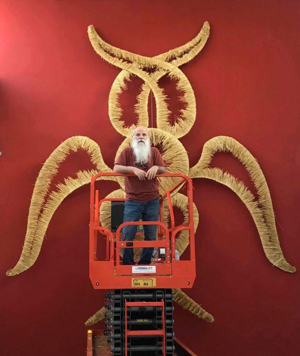 Уметникот Глигор Стефанов му подари 21 дело на Музејот на современата уметност