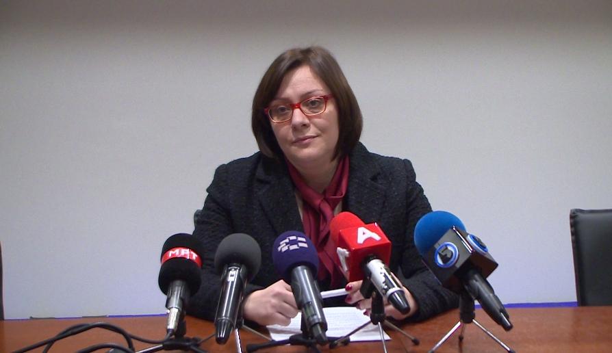 Димитроска- Кочоска: Во новиот извештај на ММФ се нотира корупцијата, ниските капитални инвестиции и непродуктивни трошоци на СДСМ