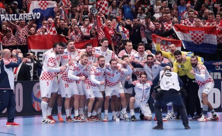 Падна и Чешка: Шеста победа во низа на Хрватска на ракометното ЕП